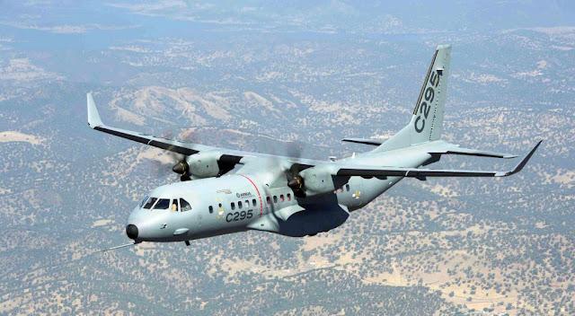 Airbus probará la integración de sistemas de armas en el avión de transporte C295