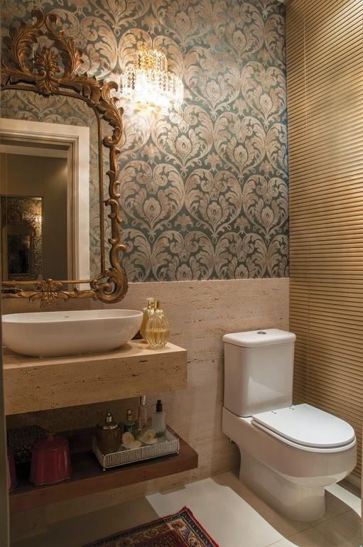 construindo minha casa clean lavabos banheiros cl ssicos com espelhos antigos e venezianos. Black Bedroom Furniture Sets. Home Design Ideas
