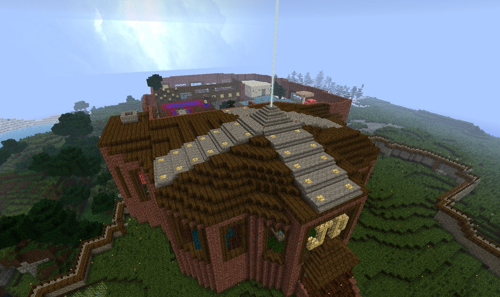 Minecraft Biggest Mansion In History Pictures to Pin on ...