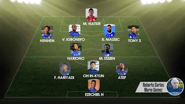 Perkiraan line-up Persib di Liga 1 musim depan