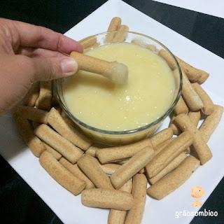 Fondue de queijo vegano