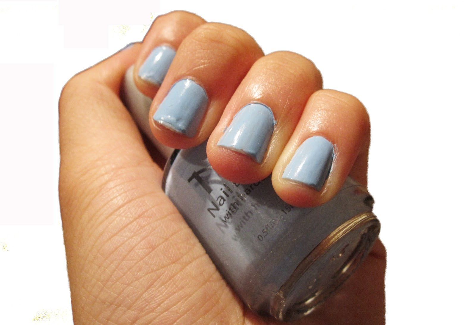 Everlastinghail: Nicka K Pastel Blue Nail Polish