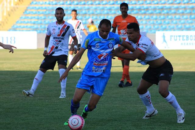 Iguatu venceu o Ferroviário, por 1 a 0, na Taça Fares Lopes — Foto: Ronaldo Oliveira/Divulgação