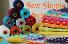 Sew Simple Saturday