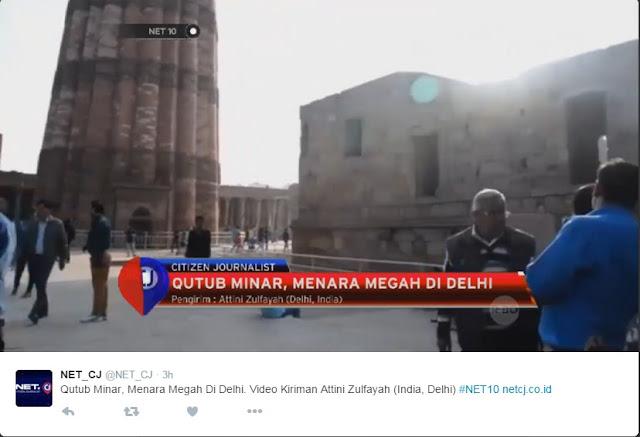 Cara mengirim Video di NET CJ