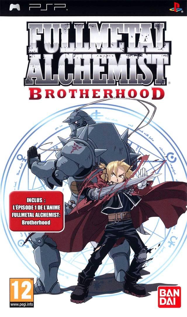 Fullmetal Alchemist: Brotherhood PSP ISO (E)