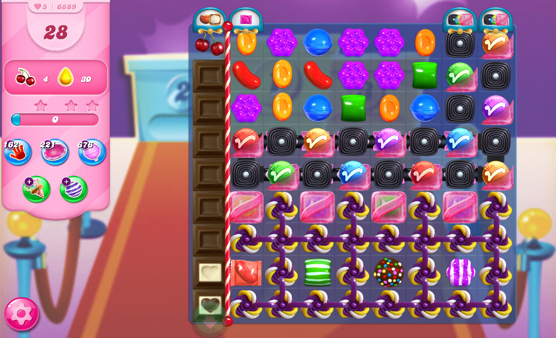 Candy Crush Saga level 6889