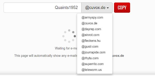 fake email generator domain