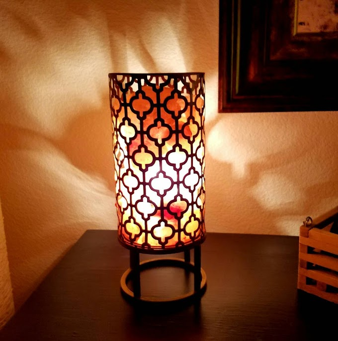 Top Trending Designs of Himalayan Salt Metal Basket Lamps