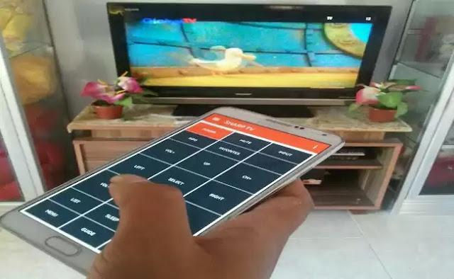 Cara Membuat HP Android Menjadi Remote TV