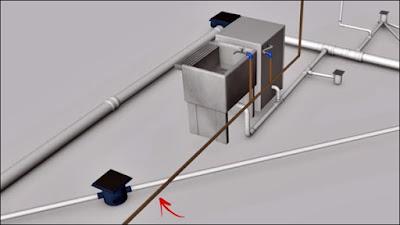 ligação de água tubo 25 mm