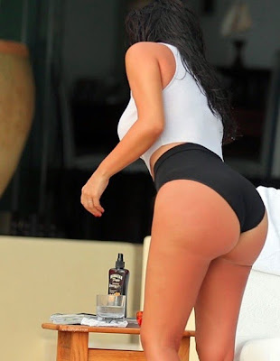 20140618 135754 Kim K West Shows off Nipples & Butt in Sexy New Photos