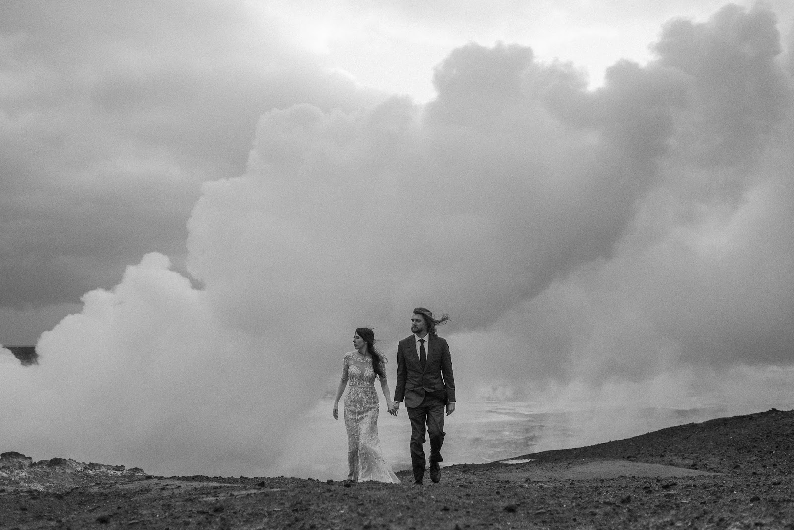 iceland wedding elopement christina and patrick blake