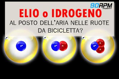 """Immagine di copertina dell'articolo: """"Ruote da ciclismo gonfiate con gas: elio o idrogeno?"""""""