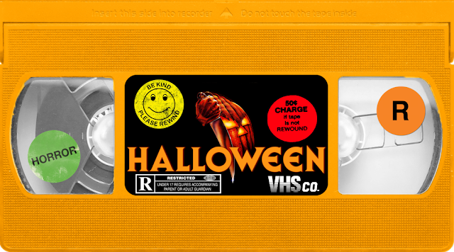 The Horrors Of Halloween  Horror Vhs Stickers By Vinyl