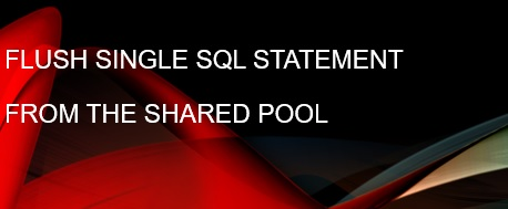 flush_sql_id_shared_pool
