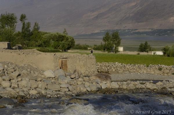 Khandud Village - Wakhan Corridor - Afghanistan Photo Bernard Grua