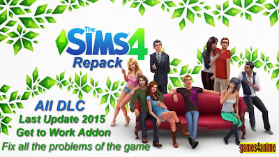 Free Download the sims 4 Full Pc Game – Repack – Last Update 2015 – All DLC – Get to Work – Fix all the problems of the game – Direct Link – Torrent Link – 8,28 GB – Working 100% .