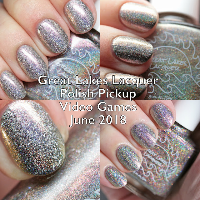 Great Lakes Lacquer Polish Pickup Video Games June 2018