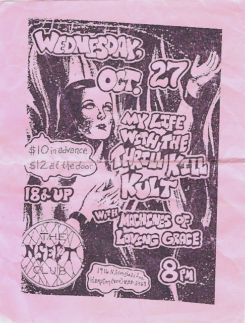 Old Band Flyers - 01 - NSect Club - Hampton,VA.