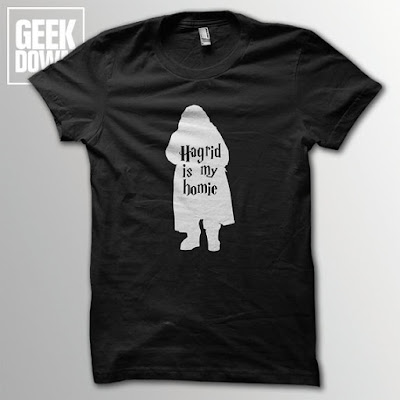 Hagrid T-Shirt on Etsy