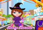 Baby Barbie Halloween Shopping
