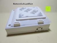 Batteriefach öffnen: ANSMANN Guide Free Motion LED-Orientierungslicht mit integriertem Dämmerungssensor und Bewegungsmelder Kind Baby Senioren mobil universal