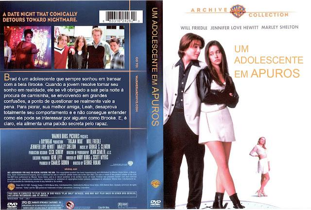 Capa DVD Um Adolescente Em Apuros