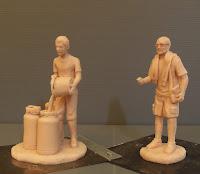 statuette realizzate a mano da colorare pupazzini personalizzati orme magiche