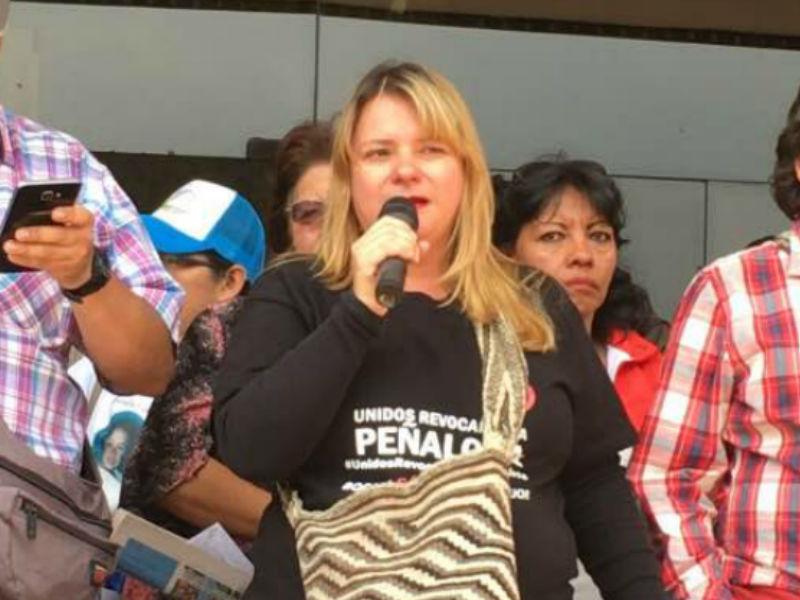 Mensaje de opinión a cargo de la profesora María Antonieta Cano del 21 de mayo de 2017