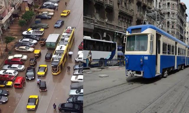 الأسكندرية :النقل والمواصلات