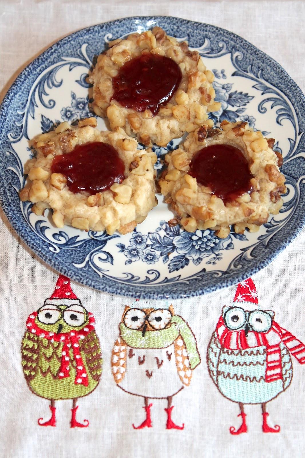 Gram's Classic Thumbprint Cookies
