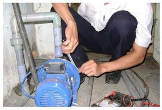 nguyên nhân máy bơm nước giếng khoan không lên nước