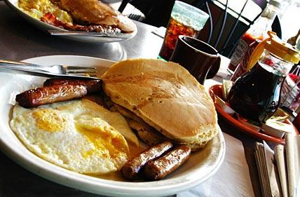 Una Desayuno Americano