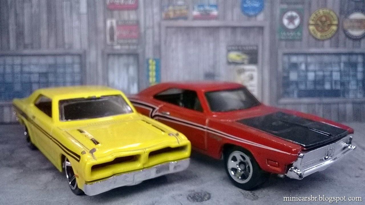 Minicarsbr Garagem Minicarsbr Dodge Charger R T 1974