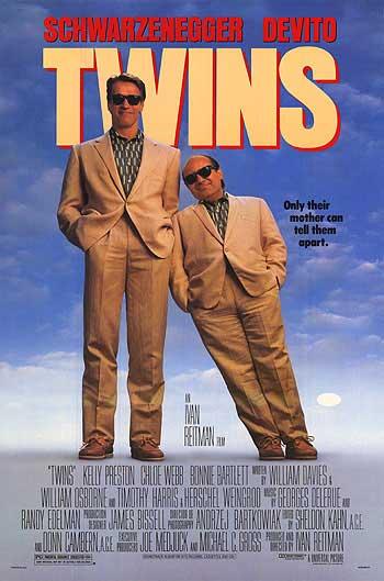 182f8ebb756 Twins (1988) Starring  Arnold Schwarzenegger