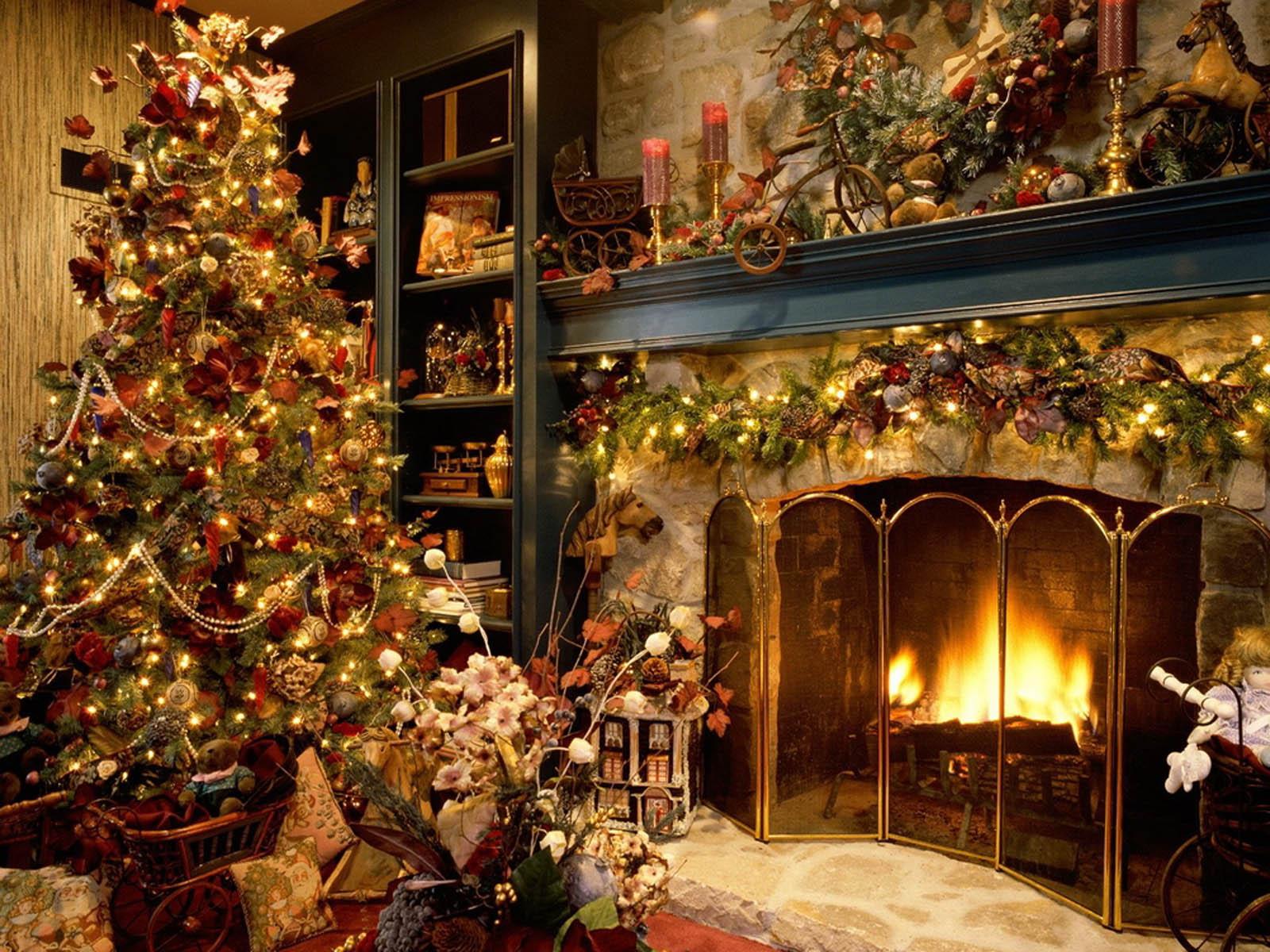 Wallpaper: Christmas Tree Decoration