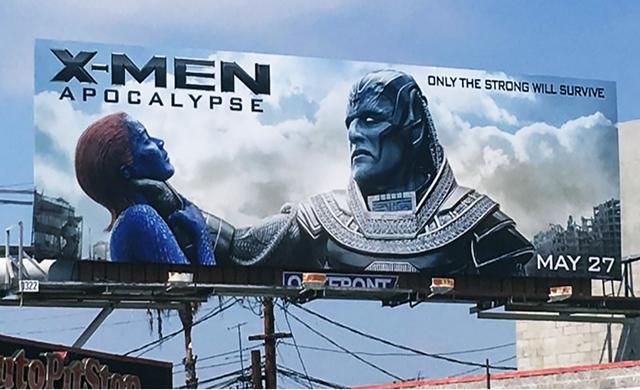 Polêmica com outdoor de X-Men Apocalipse: Ofensivo as mulheres ou mimimi?