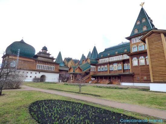 Kolomenskoye palacio de madera del zar Alexei Moscú