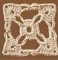 Patrón #1124: Granny a Crochet