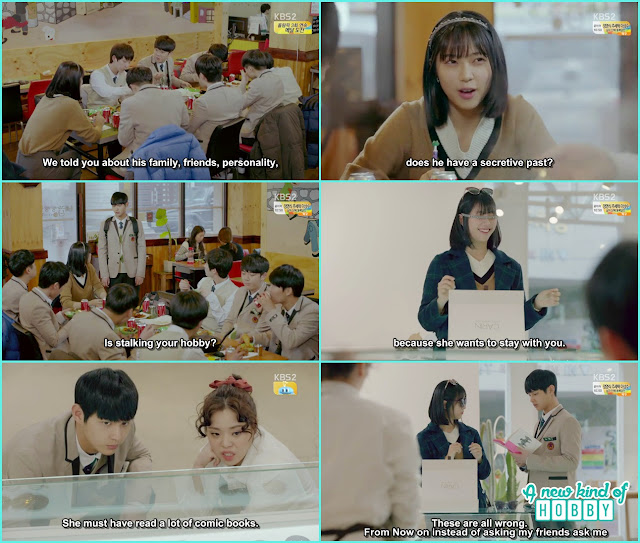 ha roo pretending to lost her memories infront of jik and na ri - Uncontrollably Fond - Episode 13 Review