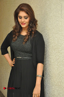 Actress Surabhi Stills in Black Long Dress at turodu Audio Launch  0010.JPG