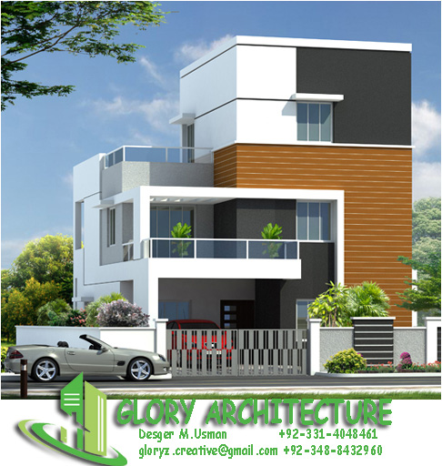 25x50 House Elevation, Islamabad House Elevation, Pakistan