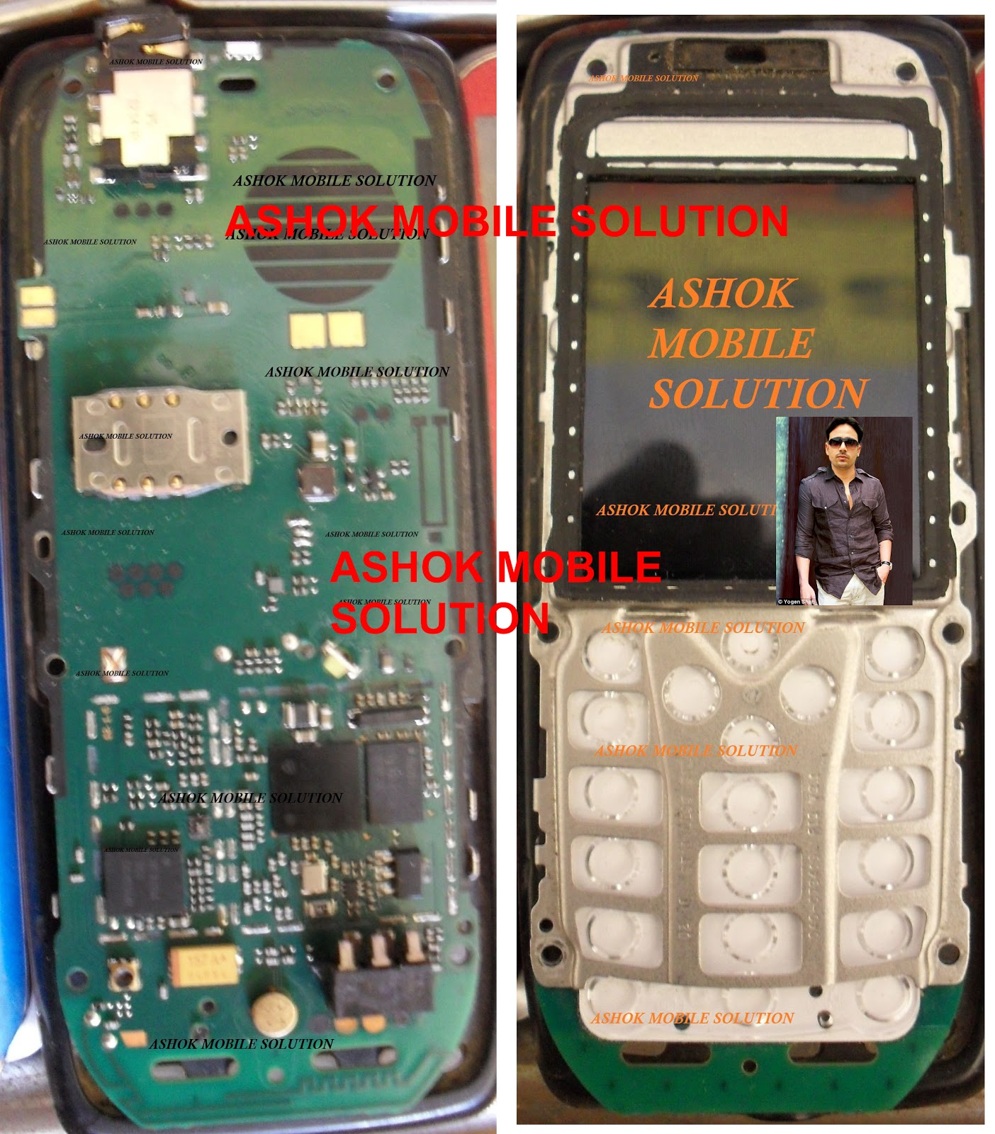 Nokia 114 Pcb Circuit Diagram X Ashok Mobile Solution 16162 Full Board