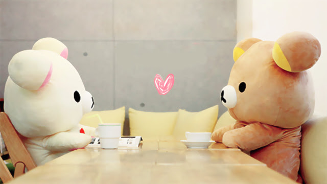 Have Some Coffee With Cute Teddy Bears