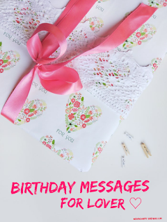 Birthday Message For Lover