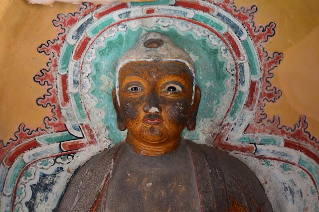 Bouddha au monastère suspendu à Datong