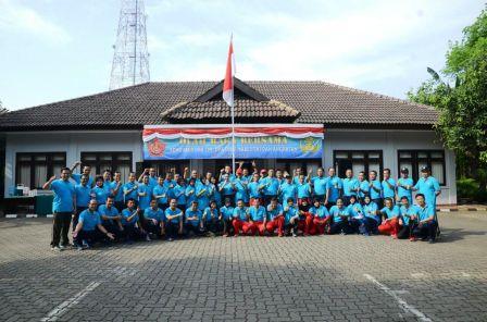 Jalin Silaturahmi, Dewan Pengurus Korpri TNI Gelar Olahraga Bersama