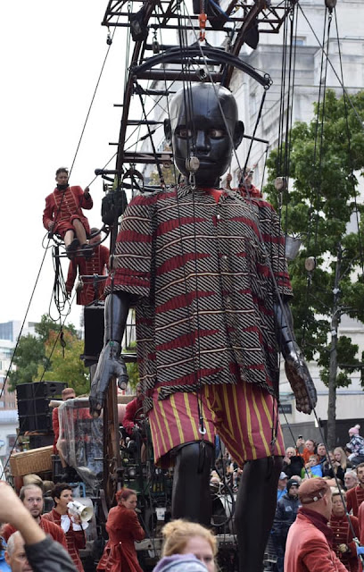 Little Boy Giant #liverpoolgiants Giant Spectacular