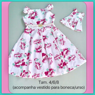 Atacado de vestido infantil